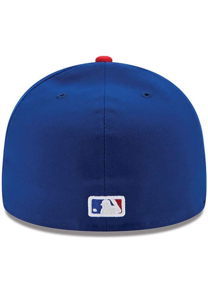 New Era Chicago Cubs Blue AC Game JR 59FIFTY Kids Fitted Hat - 5905141 95def6606