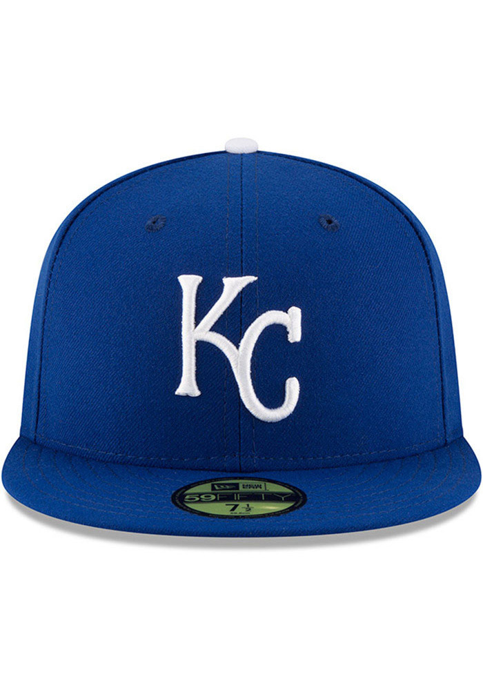 New Era Kansas City Royals Blue AC Game JR 59FIFTY Kids Fitted Hat - Image 2