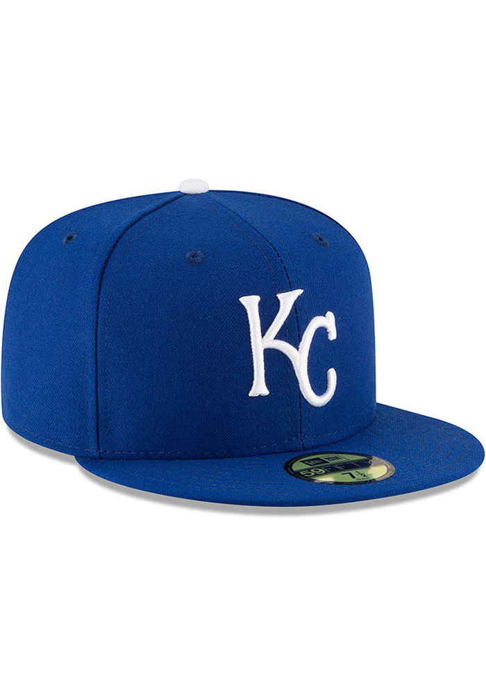 New Era Kansas City Royals Blue AC Game JR 59FIFTY Kids Fitted Hat - Image 3