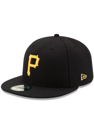 New Era Pitt Pirates Yellow AC Game JR 59FIFTY Kids Fitted Hat