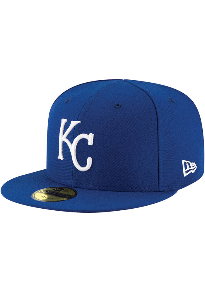 New Era Kansas City Royals Blue AC My 1st 59FIFTY Kids Fitted Hat - Image 1