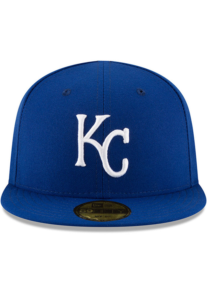 New Era Kansas City Royals Blue AC My 1st 59FIFTY Kids Fitted Hat - Image 3