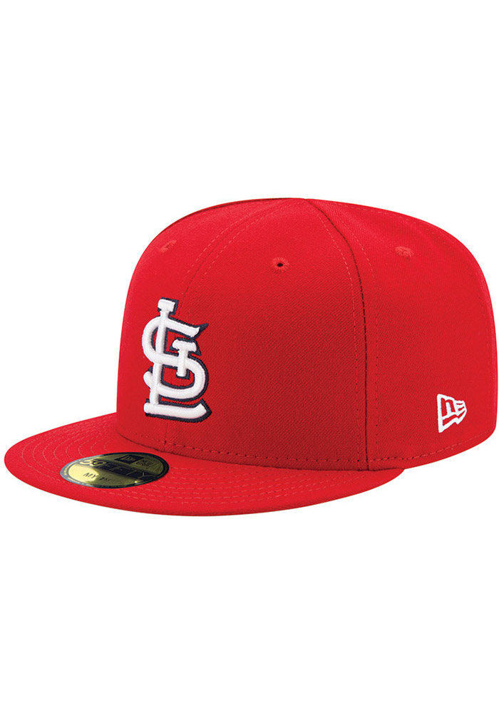 5af4706a170 New Era St Louis Cardinals Red AC My 1st 59FIFTY Kids Fitted Hat - Image 1