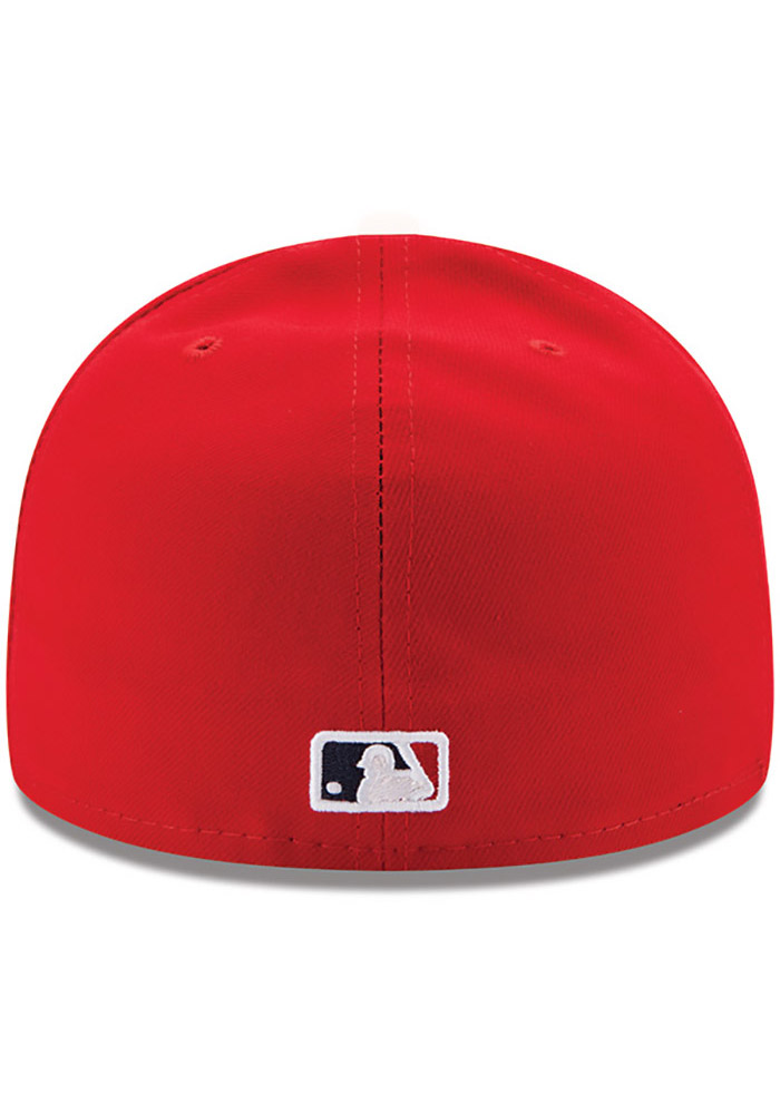 0341b99a5f3 New Era St Louis Cardinals Red AC My 1st 59FIFTY Kids Fitted Hat - Image 4