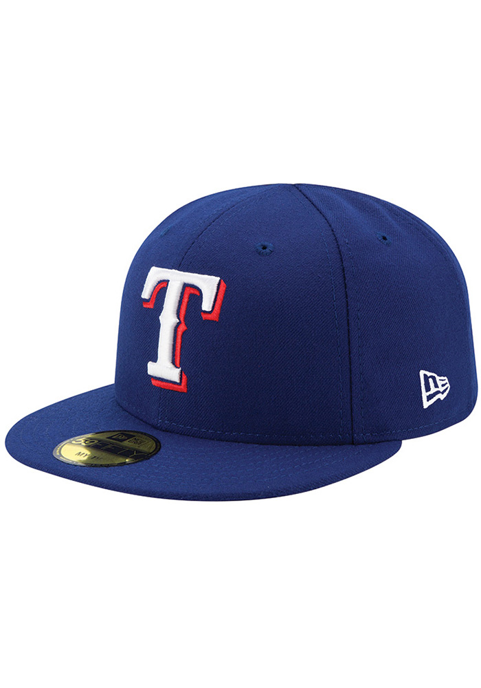 New Era Texas Rangers Red AC My 1st 59FIFTY Kids Fitted Hat - Image 1