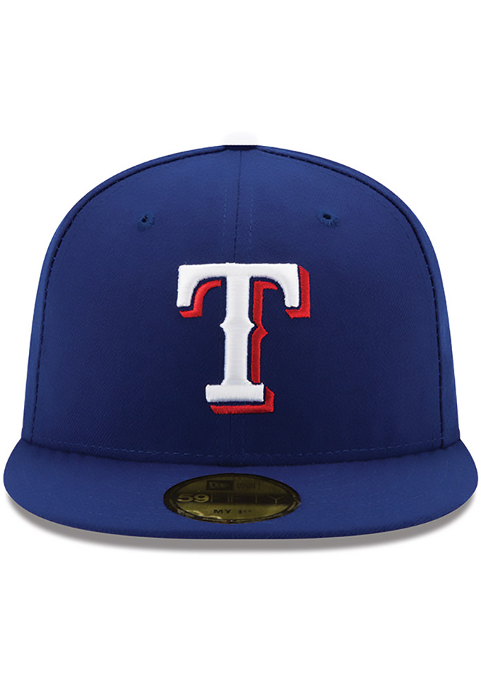 New Era Texas Rangers Red AC My 1st 59FIFTY Kids Fitted Hat - Image 3