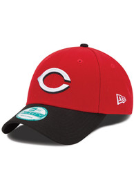 New Era Cincinnati Reds Road The League 9FORTY Adjustable Hat - Red
