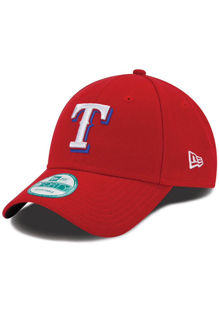 New Era Texas Rangers Alt The League 9FORTY Adjustable Hat - Red - Image 1