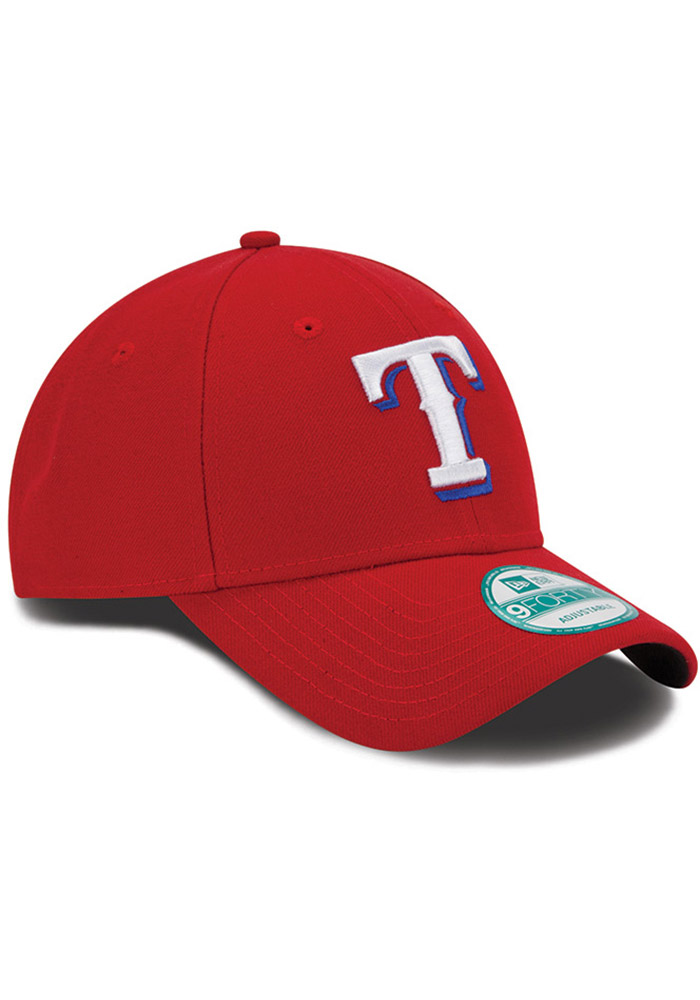 New Era Texas Rangers Alt The League 9FORTY Adjustable Hat - Red - Image 2