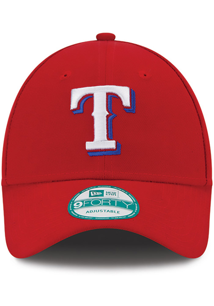 New Era Texas Rangers Alt The League 9FORTY Adjustable Hat - Red - Image 3