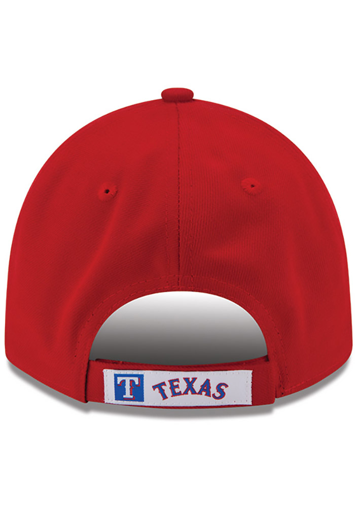 New Era Texas Rangers Alt The League 9FORTY Adjustable Hat - Red - Image 4