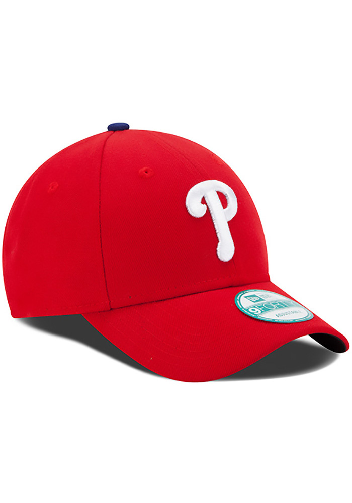 New Era Philadelphia Phillies Red Game Jr The League 9FORTY Kids Adjustable Hat - Image 2