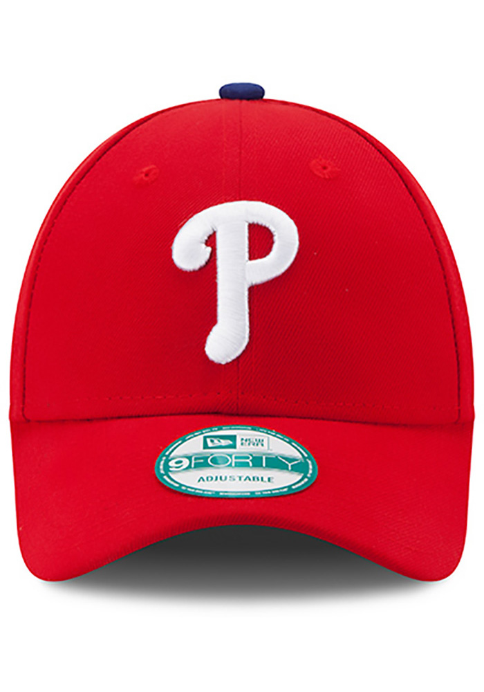 New Era Philadelphia Phillies Red Game Jr The League 9FORTY Kids Adjustable Hat - Image 3