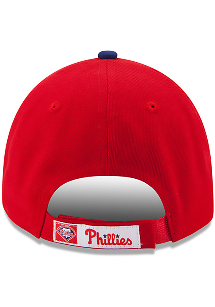 New Era Philadelphia Phillies Red Game Jr The League 9FORTY Kids Adjustable Hat - Image 4