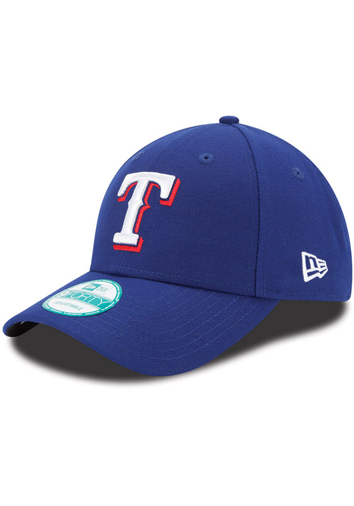 Texas Rangers Red Game Jr The League 9FORTY Youth Adjustable Hat - Image 1