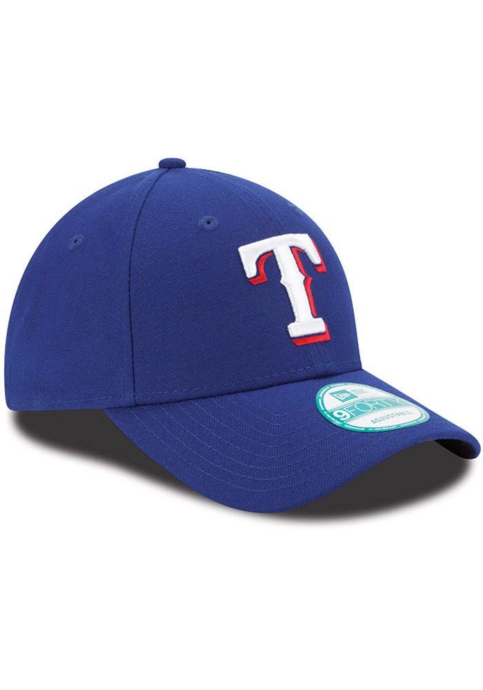 Texas Rangers Red Game Jr The League 9FORTY Youth Adjustable Hat - Image 2