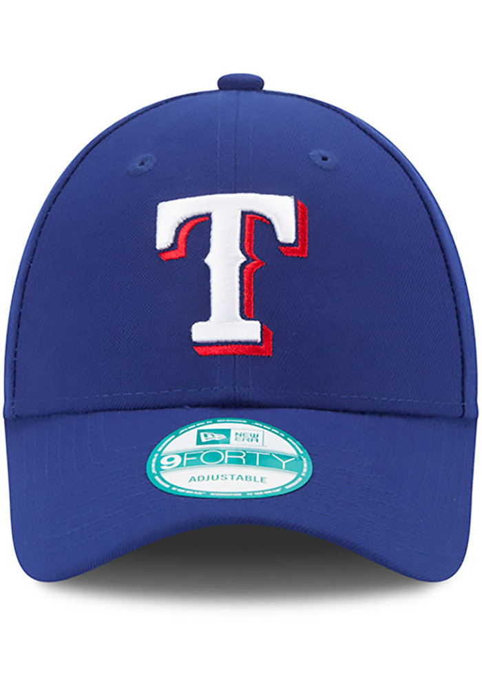 Texas Rangers Red Game Jr The League 9FORTY Youth Adjustable Hat - Image 3