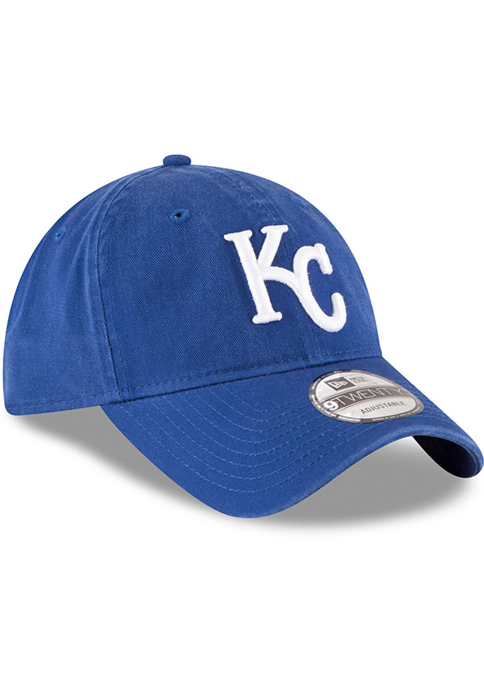 New Era Kansas City Royals Core Classic 9TWENTY Adjustable Hat - Blue - Image 2