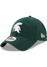 Michigan State Spartans New Era Core Classic 9TWENTY Adjustable Hat - Green