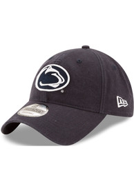 New Era Penn State Nittany Lions Core Classic 9TWENTY Adjustable Hat - Navy Blue