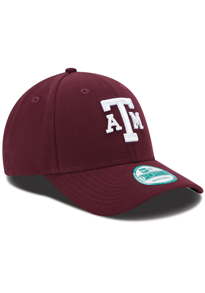 New Era Texas A&M Aggies The League 9FORTY Adjustable Hat - Maroon - Image 2