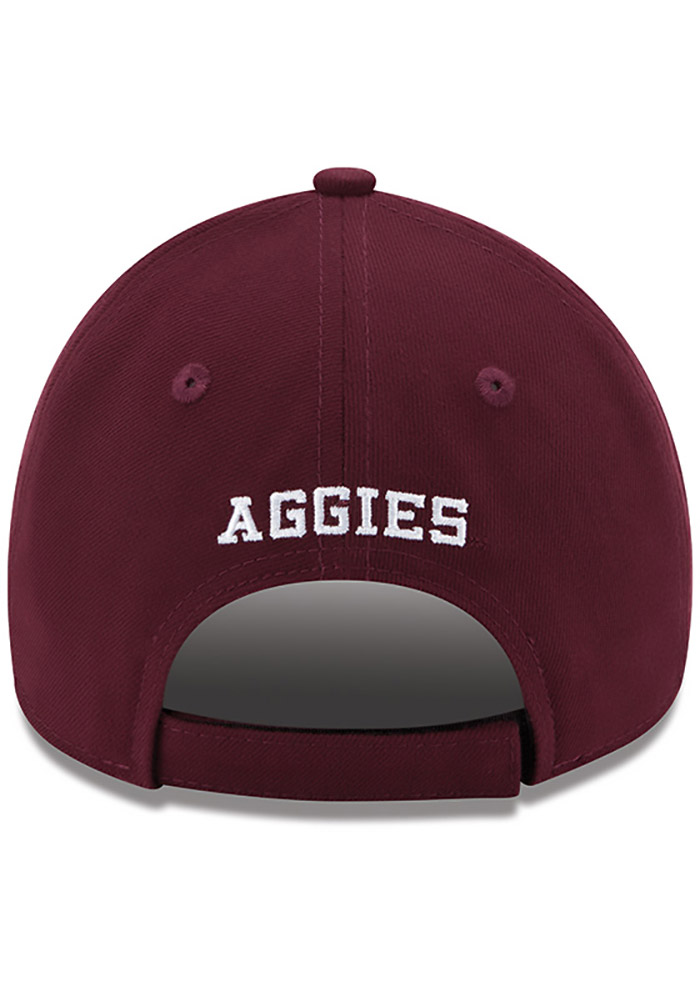 New Era Texas A&M Aggies The League 9FORTY Adjustable Hat - Maroon - Image 4