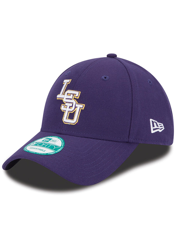 49fb08ccdf4 New Era LSU Tigers Purple The League 9FORTY Adjustable Hat