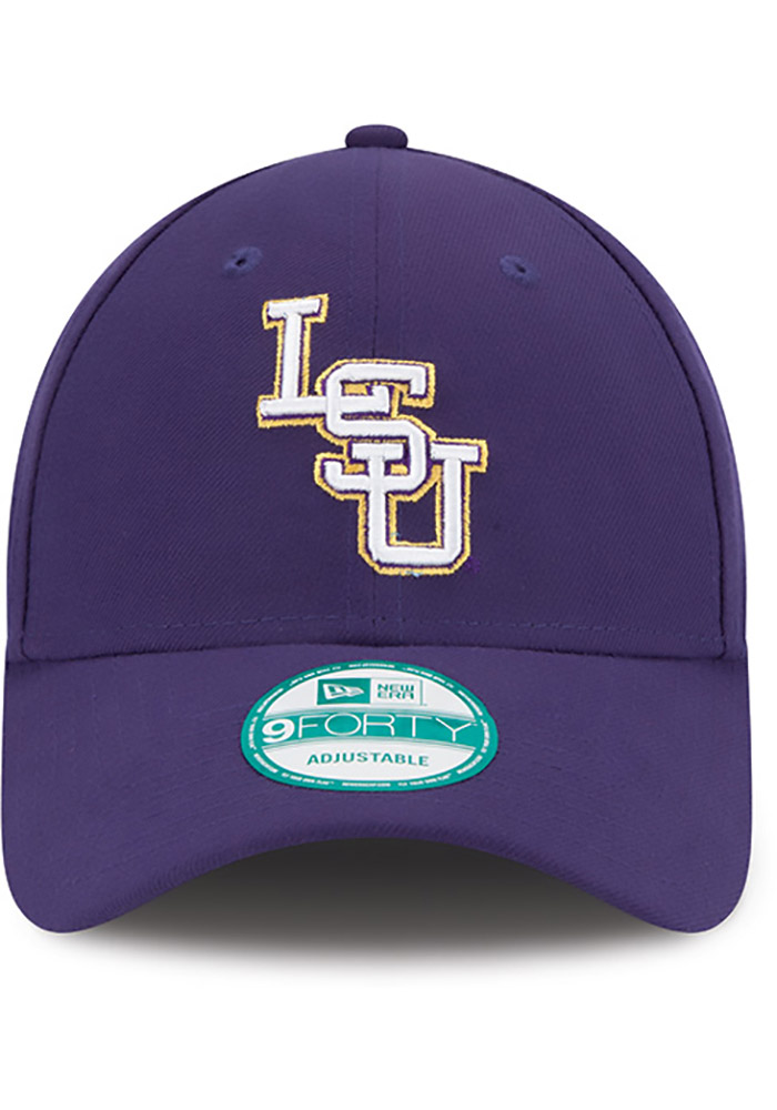 New Era LSU Tigers The League 9FORTY Adjustable Hat - Purple - Image 3