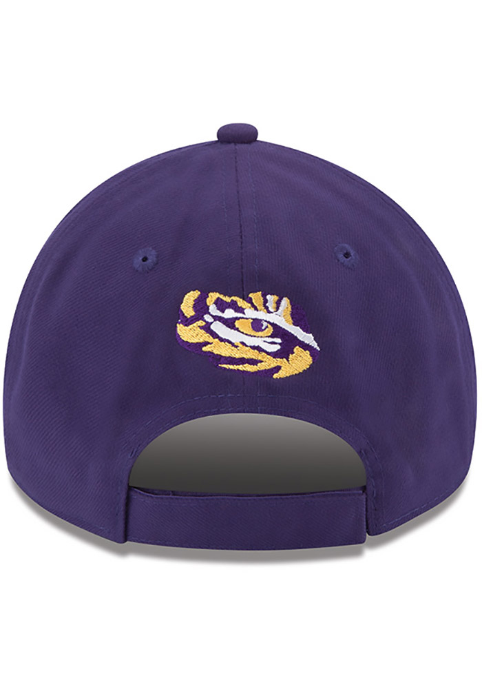 New Era LSU Tigers The League 9FORTY Adjustable Hat - Purple - Image 4