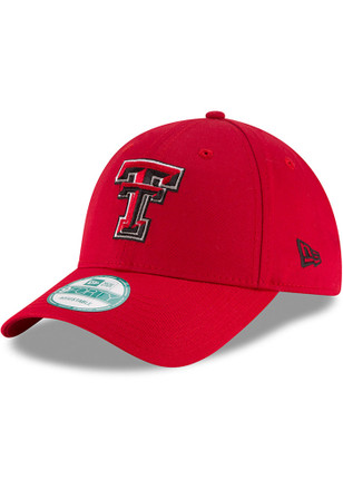 New Era Texas Tech Red Raiders Mens Red The League 9FORTY Adjustable Hat