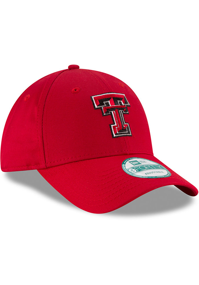 New Era Texas Tech Red Raiders The League 9FORTY Adjustable Hat - Red - Image 2