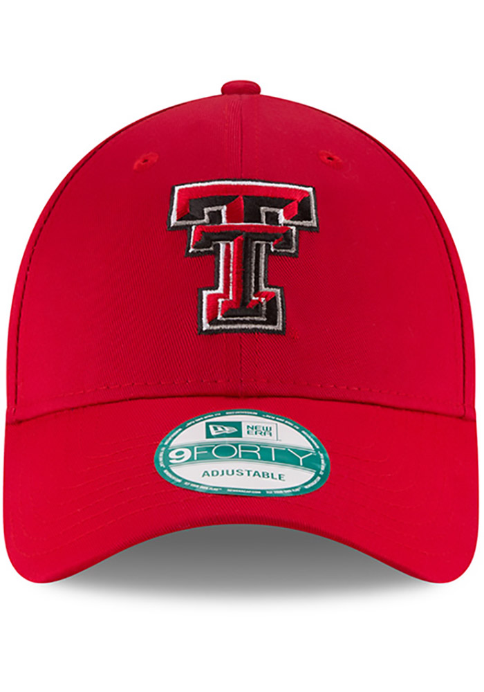 New Era Texas Tech Red Raiders The League 9FORTY Adjustable Hat - Red - Image 3