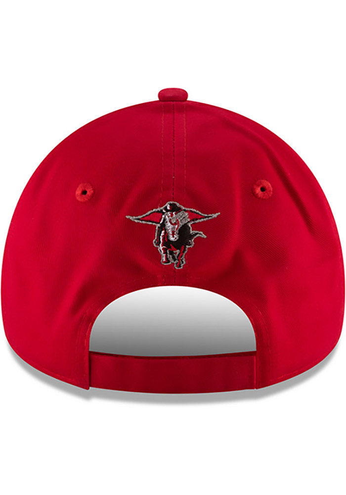 New Era Texas Tech Red Raiders The League 9FORTY Adjustable Hat - Red - Image 5