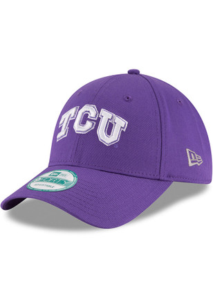 New Era TCU Horned Frogs Mens Purple The League 9FORTY Adjustable Hat