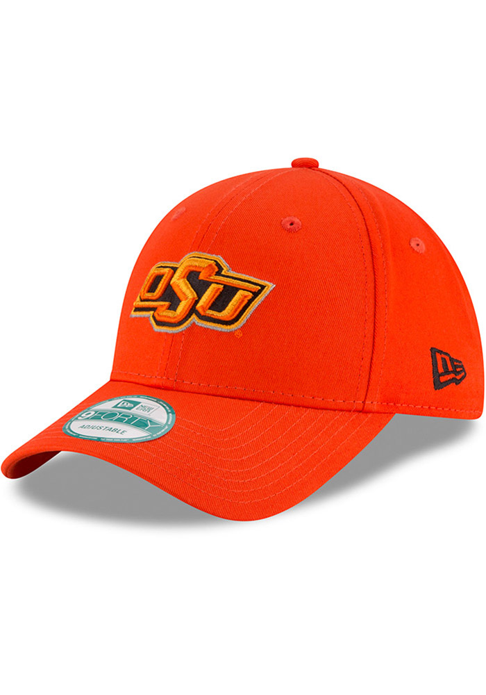 New Era Oklahoma State Cowboys Mens Orange The League 9FORTY Adjustable Hat  - Image 1 578dae14a