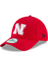 New Era Nebraska Cornhuskers The League 9FORTY Adjustable Hat - Red