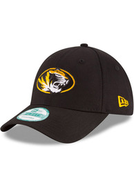 purchase cheap 19852 79f68 New Era Missouri Tigers The League 9FORTY Adjustable Hat - Black