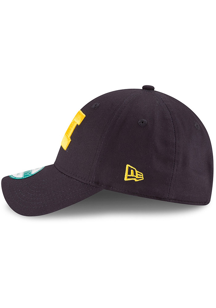 New Era Michigan Wolverines Mens Navy Blue The League 9FORTY Adjustable Hat - Image 4