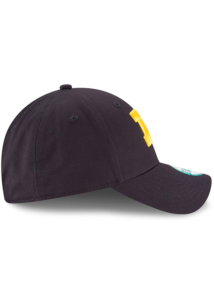 New Era Michigan Wolverines Mens Navy Blue The League 9FORTY Adjustable Hat - Image 6