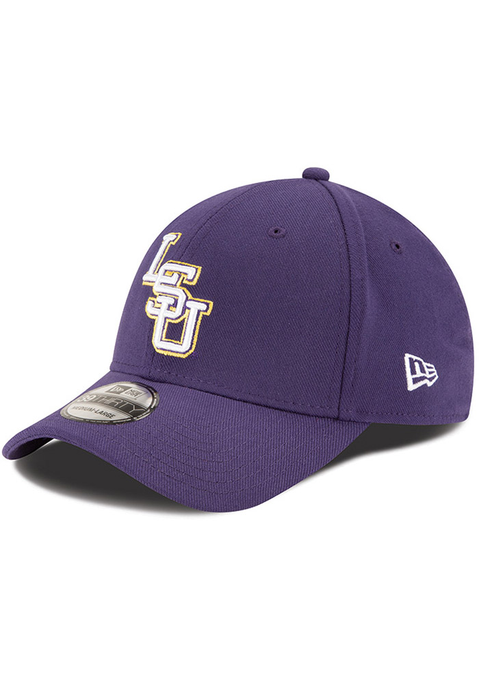 4e685a6c353 New Era LSU Tigers Purple Classic 39THIRTY Flex Hat