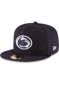 Penn State Nittany Lions New Era Navy Blue College 59FIFTY Fitted Hat