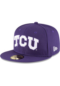 TCU Horned Frogs New Era Purple College 59FIFTY Fitted Hat