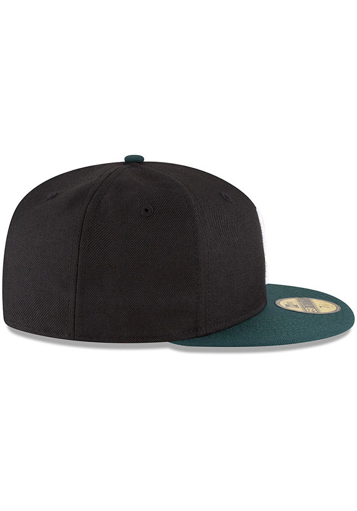 Go Back. New Era Michigan State Spartans Mens Black College 59FIFTY Fitted  Hat - Image 6 3e8a122c0112