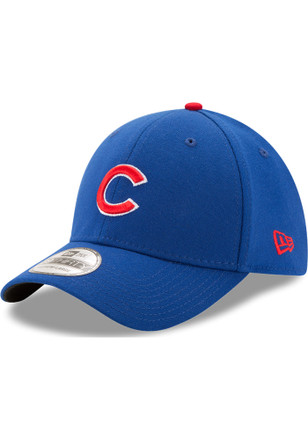 New Era Chicago Cubs Blue Game Jr Team Classic 39THIRTY Kids Flex Hat