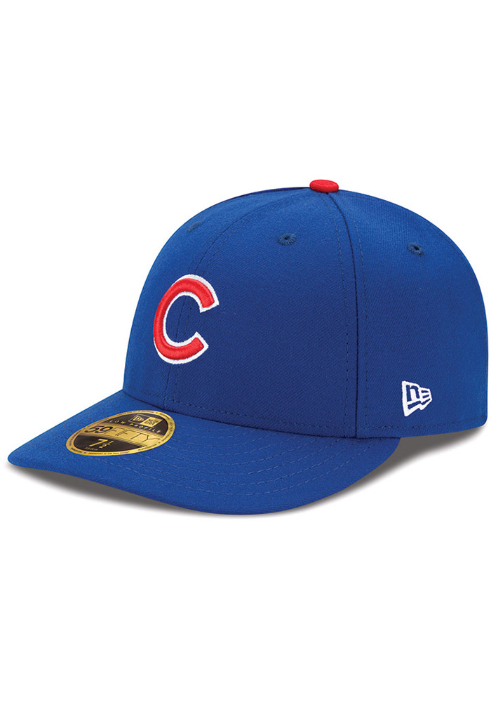 New Era Chicago Cubs Mens Blue AC Game LC 59FIFTY Fitted Hat - Image 1