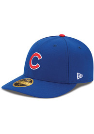 Chicago Cubs New Era Blue AC Game LC 59FIFTY Fitted Hat