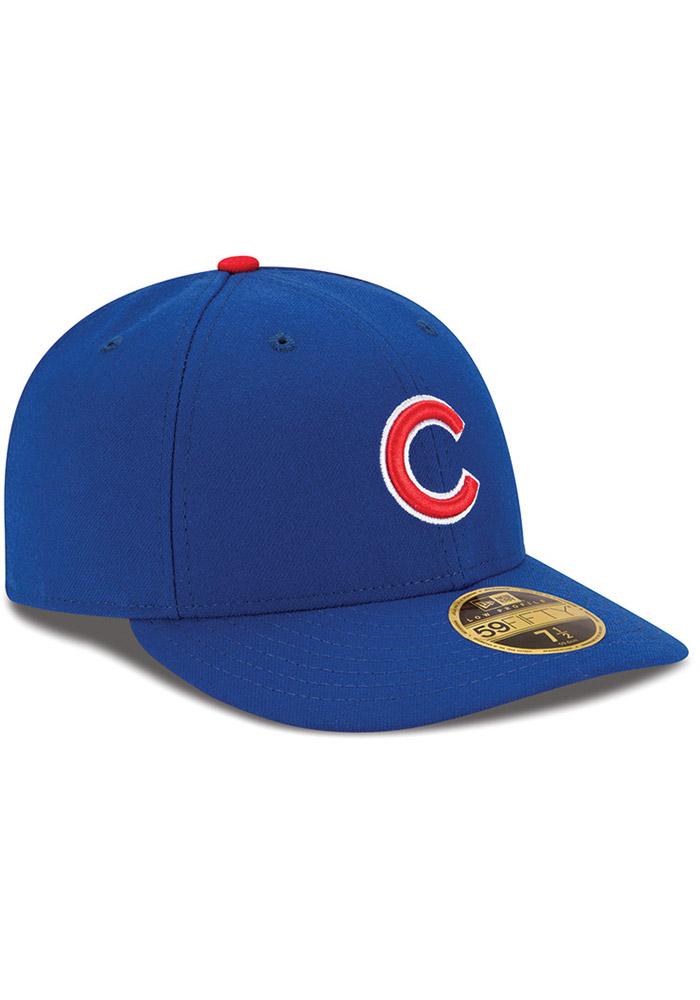 New Era Chicago Cubs Mens Blue AC Game LC 59FIFTY Fitted Hat - Image 2