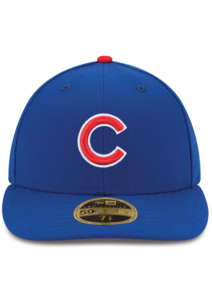 New Era Chicago Cubs Mens Blue AC Game LC 59FIFTY Fitted Hat - Image 3