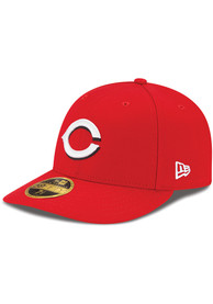 Cincinnati Reds New Era Red AC Home LC 59FIFTY Fitted Hat