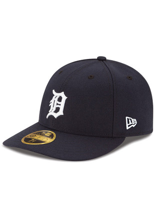 Detroit Tigers New Era Mens Orange AC Home LC 59FIFTY Fitted Hat